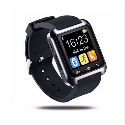 2016 Bluetooth Smart Wrist Watch Phone For Android, iPhone, Samsung (Black)