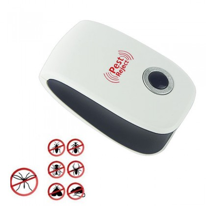22-55KHz Ultrasonic Electronic Pest Mouse Cockroach Repeller Reject