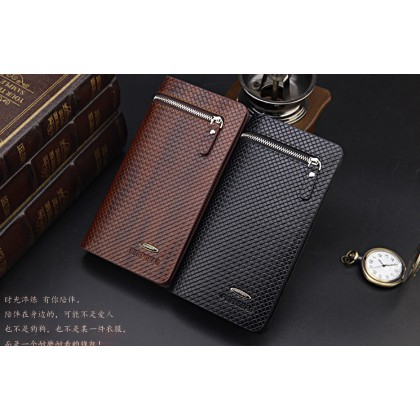 mens wallet leather genuine mobile pouch designs man wallet with card holder long wallet