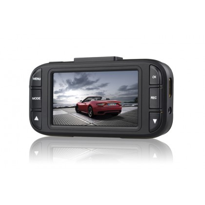 "Car Dash Camera DVR Recorder with G-sensor  2.7"" LCD Screen 148 Degree Wide Angle Lens 1080P   AT850  (Black)"