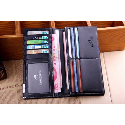 Man Wallet business card package wallet multi-function large capacity hot style