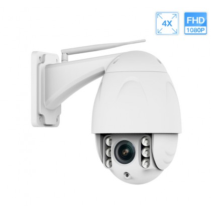 Outdoor IP PTZ Camera 1080P Full HD Wifi Dome IR Night Vision 4X Zoom Waterproof CCTV Security Video Surveillance Camera