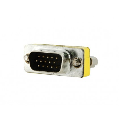 15pin Gender Changer Adapter male to Female VGA/SVGA Cable Extender Connector