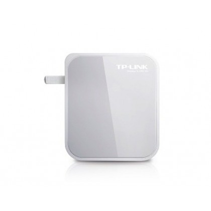 Mini Portable TP-Link TL-WR710N 150 Mbps Wi-Fi Wireless Router with Chinese Background Operation (Grey)