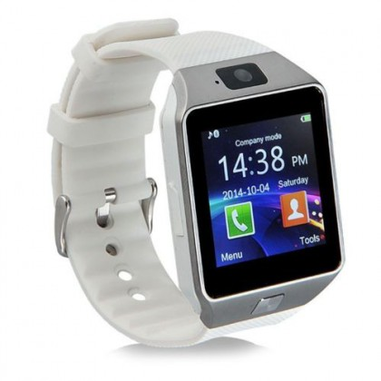 DZ09 Bluetooth 3.0 Smart Watch Phone with SMS Reminder, Sedentary Reminder, Sleeping Monitoring, Anti Lost, Remote Camera and SIM Card Slot