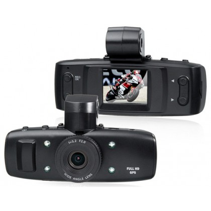 "2.0"" LCD HD1080P Vehicle Black Box DVR Camera Video Recorder with Motion Detection, Loop-Cycle Recording & HDMI Video Output"