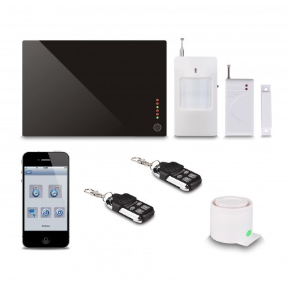 Support APP House Alarm System Intelligent Home Security GSM Alarm System