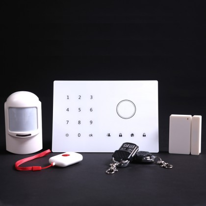 Home Security Alarm System,Android/Ios App Control Wireless Alarm System