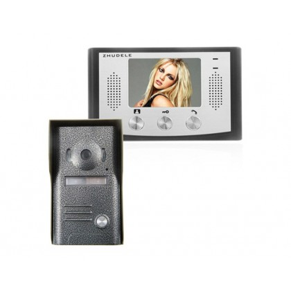 ZDL-33M+ZDL-035C TFT LCD Night Visual Colour Video Doorphone Access Control System