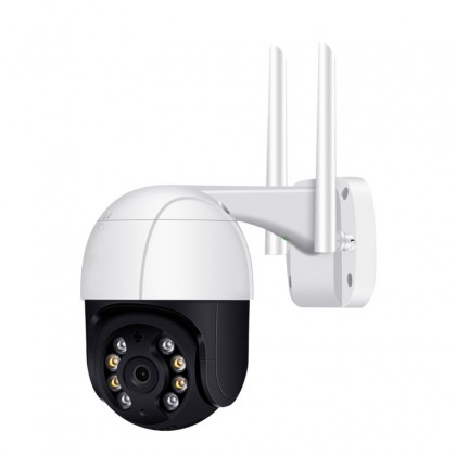Wifi HD ptz ip camera Pan/Tilt AI Humanoid detection H265 Waterproof WiFi IP Camera with Two Way Audio