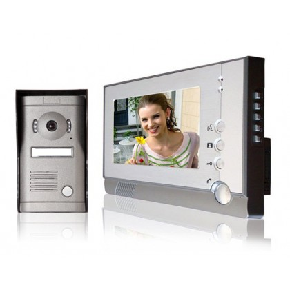 "SY805MF11 7"" TFT Color Display Wired Video Door Phone Doorbell Intercom System"