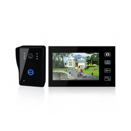 "SY806MJW11 7.0"" TFT Color Display Wireless Video Intercom Door Phone Doorbell"