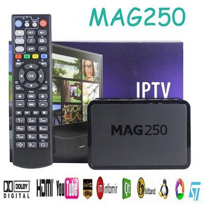 TV MAG 250 IPTV SET TOP BOX Multimedia Player Internet TV IP HDTV 1080p