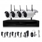 IP Camera Wifi Sets Wireless CCTV Kit H.265X Video Surveillance HD 1080P 4CH Wifi Security Camera System 1T HDD