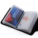 100% Genuine Cow Leather card holder Korea Fashion Women&Men's Name Bank Credit Card Holder Wallet,Holiday Gifts