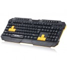 DEIOG DY-KM712 USB2.0 Wired Keyboard & Optical Mouse Set (Black)