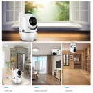 1080P IP Camera 2MP Home Security Surveillance CCTV Camera Auto Tracking Network WiFi Camera Wireless CCTV Camera