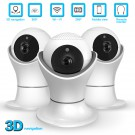 1080P Wifi IP Camera Fisheye 360 Degree CCTV Security Surveillance Camera 2MP Indoor Night Vision CCTV Camera Baby Monitor