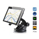 "AW-504 5"" TFT Touch Screen WinCE6 GPS Navigator with Russian Map, FM, 4G TF Card (Black)"