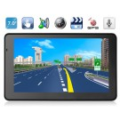 "AW715 7"" TFT Windows CE 6.0 GPS Navigator with MTK3351 CPU, FM Transmitter, Built-in Microphone"