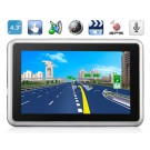 "AW488AC 4.3"" TFT Windows CE 6.0 GPS Navigator with MTK3351 CPU, FM Transmitter, Built-in Microphone (4GB)"