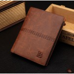 High Quality Choose Men's Brief Paragraph Purse Tide Restoring Ancient Ways Wallet