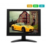 "7"" Color LED Video Monitor Screen VGA BNC AV Input for CCTV Security Remote"
