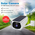 Solar Security Camera 1080P 2MP IP Wireless WIFI IR Camera Night Vision Outdoor Waterproof