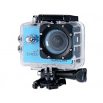 "30M Waterproof 12MP 1.5"" 170° Wide Angle Lens HD 1080P Sports Video Camera (Blue)"