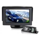 "4.3"" TFT Screen Car Parking Monitor with Infrared Night Vision Camera (Black)"