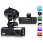 "1.5"" TFT Screen Ambarella 1080P HD Car Camera Recorder with GPS System, G-sensor  (Black)"