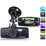 "AT300 2.7"" LED Screen 96650, 6G Lens Vehicle Black Box DVR Recorder with Parking Monitor, HDMI Output, TV-Out & G-Sensor"