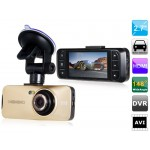 "Vehicle Black Box DVR with HDMI, G-sensor, TV-Out  2.7"" TFT Screen Novatek   AT900"