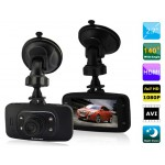 "2.7"" TFT Screen Novatek Full HD 1080P Vehicle Black Box DVR with Infrared Night Vision, G-sensor & HDMI Output (Black)"