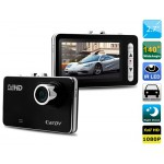 "2.7"" LCD HD1080P DVR Camera Video Recorder with Motion Detection, Loop Recording, 4X Digital Zoom & G-sensor (Black)"