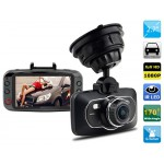 "2.7"" LCD 1080P Vehicle Black Box DVR Camera Video Recorder with Motion Detection, Loop Recording, HDMI Output & G-sensor"