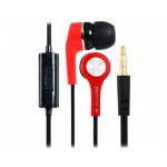 OVLENG IP530 3.5mm Plug In-ear Stereo Earphones with 1.2 m Cable (Red)