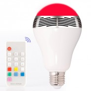 LED intelligent Bluetooth Speaker light Support Apple and Android